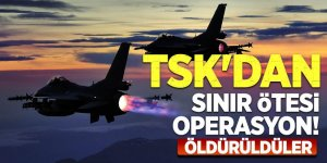 TSK'dan sınır ötesi operasyon! Öldürüldüler