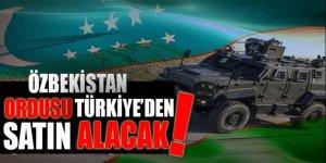 Özbekistan ordusu Türkiye'den satın alacak