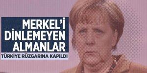 Merkel'i dinlemeyen, Almanlar Türkiye rüzgarına kapıldı