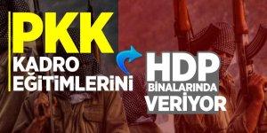 PKK kadro eğitimlerini HDP binalarında veriyor