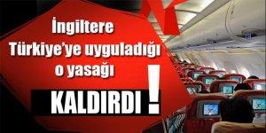 İngiltere'den Türkiye kararı! Yasak kalktı