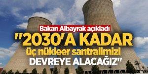 Üç nükleer santral geliyor