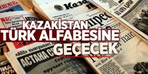 Kazakistan Türk alfabesine geçecek