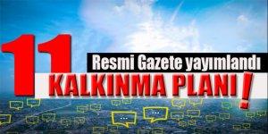 Başbakanlıktan 'On Birinci Kalkınma Planı' Genelgesi