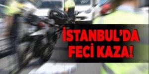 İstanbul 'da feci kaza!