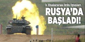 3. Uluslararası Ordu Oyunları Rusya'da  başladı
