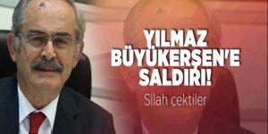 Yılmaz Büyükerşen'e saldırı... Silah çektiler
