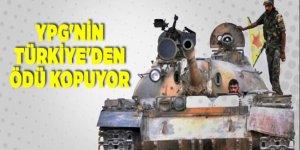YPG'nin Türkiye'den ödü kopuyor