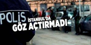 Polis İstanbul'da adeta göz açtırmadı