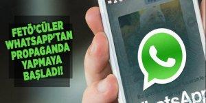 FETÖ'cüler WhatsApp'tan propaganda yapmaya başladı!