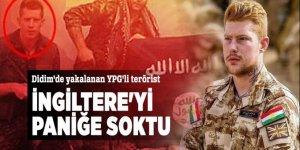 Didim'de yakalanan YPG'li terörist İngiltere'yi paniğe soktu