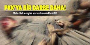 PKK'ya bir darbe daha! Kato Jirka cephe sorumlusu öldürüldü!