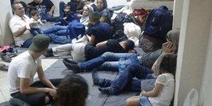 58 mülteci yakalandı