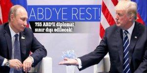 Rusya'daki 755 ABD'li diplomat sınır dışı edilecek