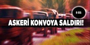 Askeri konvoya saldırı: 8 ölü