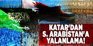 Katar'dan S. Arabistan'a yalanlama