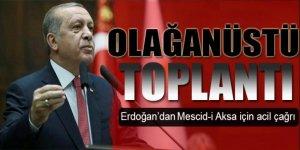 Erdoğan 'İsrail' için çağırdı! Olağanüstü toplantı