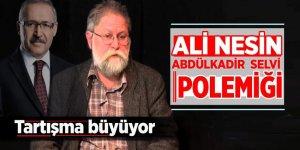 Ali Nesin, Abdülkadir Selvi polemiği