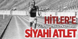 Hitler'e stadyumu terk ettiren siyahi atlet