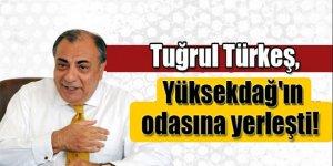 Tuğrul Türkeş, Yüksekdağ'ın odasına yerleşti!