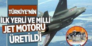 Türkiye'nin ilk yerli ve millî jet motoru üretildi