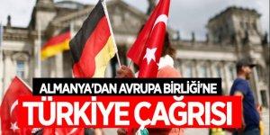Almanya'dan Avrupa Birliği'ne Türkiye çağrısı