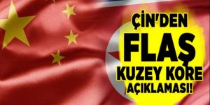 Çin'den flaş Kuzey Kore açıklaması!