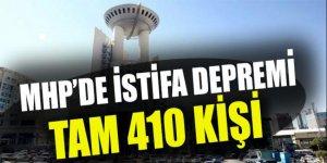 MHP'de istifa şoku! Tam 410 kişi