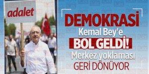 Demokrasi Kemal Bey'e bol geldi! Merkez yoklaması geri dönüyor