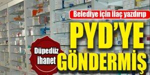 BDP'li başkan PKK'ya bunları yollamış