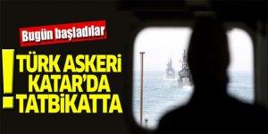 Katar ve Türk ordusunun tatbikatı başladı