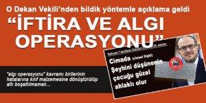 SDÜ İlahiyat Dekan Vekili'nden skandala dair bildik açıklama: İftira, operasyon!