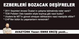 Emre Erciş'ten şok deşifreler!