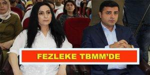 Demirtaş ve Yüksekdağ'ın fezlekeleri TBMM'ye sunuldu