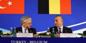 Çavuşoğlu'dan, Belçikalı mevkidaşının yüzüne 'terör' tepkisi