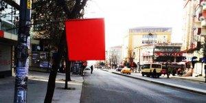 Gazi Mahallesi bayraklarla donatıldı
