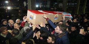 Küçük'ün cenazesi Türkmendağı'ndan İstanbul'a getirildi