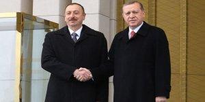 Azerbaycan Cumhurbaşkanı Beştepe'de