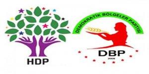 DBP ve HDP yöneticisi 19 kişiye gözaltı!