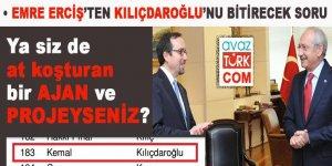 """Sayın Kılıçdaroğlu, ya siz de """"AT KOŞTURAN"""" bir AJAN veya PROJEYSENİZ!"""