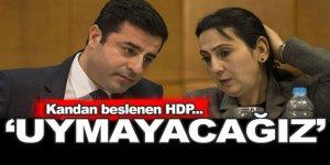 HDP'den beklenen tavır gecikmedi: Karara uymayacağız