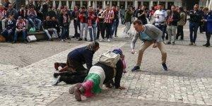 İnsalık onuruna kara leke süren görüntülere UEFA el koydu