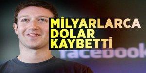 Milyarlarca dolar kaybetti