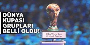 Dünya Kupası grupları belli oldu!