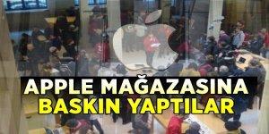 Apple mağazasına baskın yaptılar