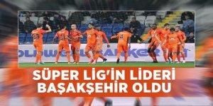 Süper Lig'in lideri Başakşehir oldu