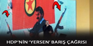HDP'den Kalaşnikof altında barış çağrısı