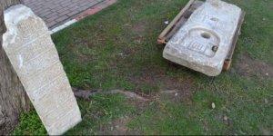 Yol kontrolleri sırasında tarihi eserler bulundu