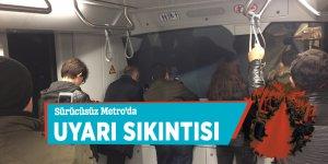 Sürücüsüz Metro'da uyarı sıkıntısı