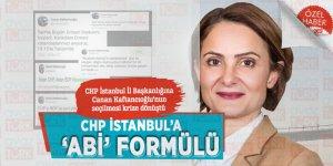 CHP İstanbul'a 'abi' formülü